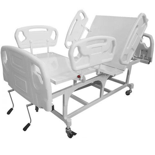Cama Hospitalar Manual Obeso Extra Luxo